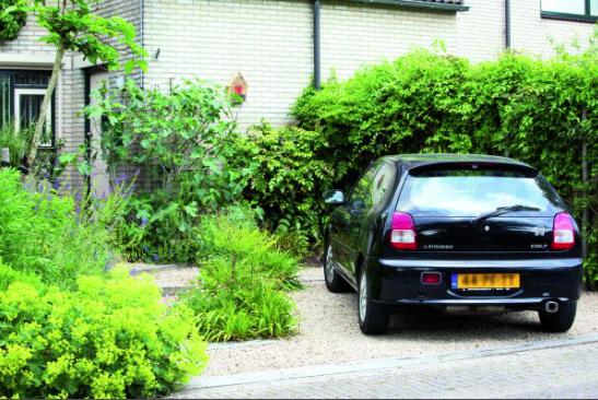 Parkeren In Voortuin : Parkeren in groene voortuin hortipoint