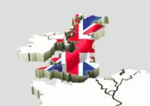 'Utrecht en Noord-Holland meest gevoelig voor Brexit' - klein-kaart-plus-uk-170x120