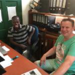 Coen Dekkers bezoek Xclusive in Uganda