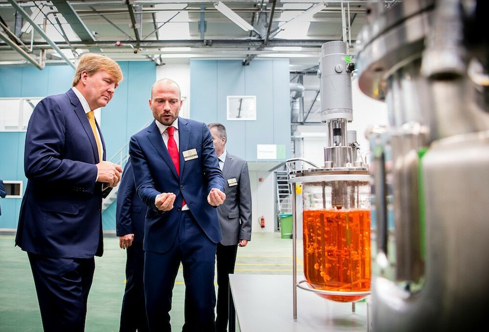 Bezoek Koning Willem-Alexander aan jubilerend Koppert Biological Systems