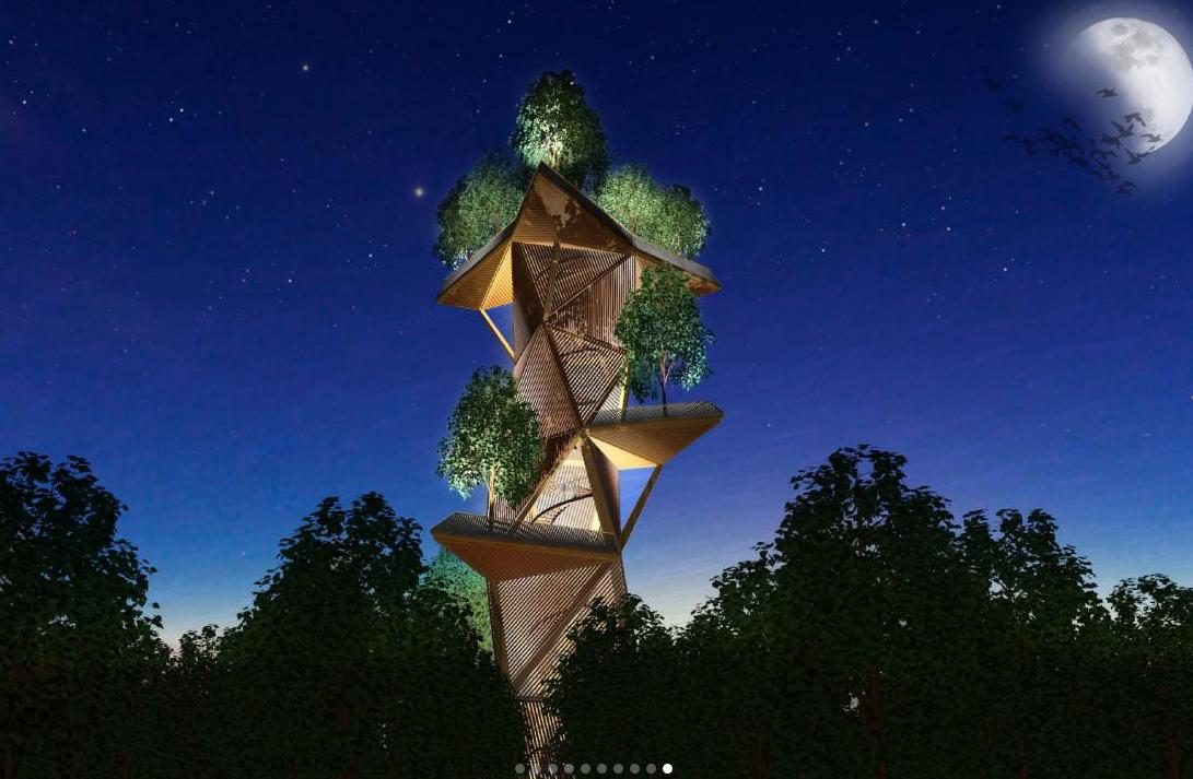 Floriade 2022 krijgt bomentoren