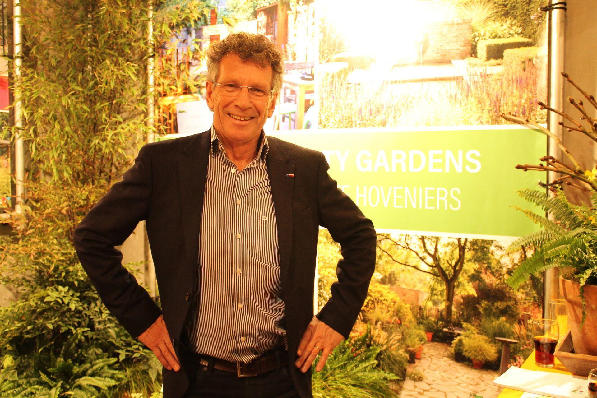 Appeltern-directeur Ben van Ooijen zoekt hoveniers en ontwerpers die een tuin willen aanleggen