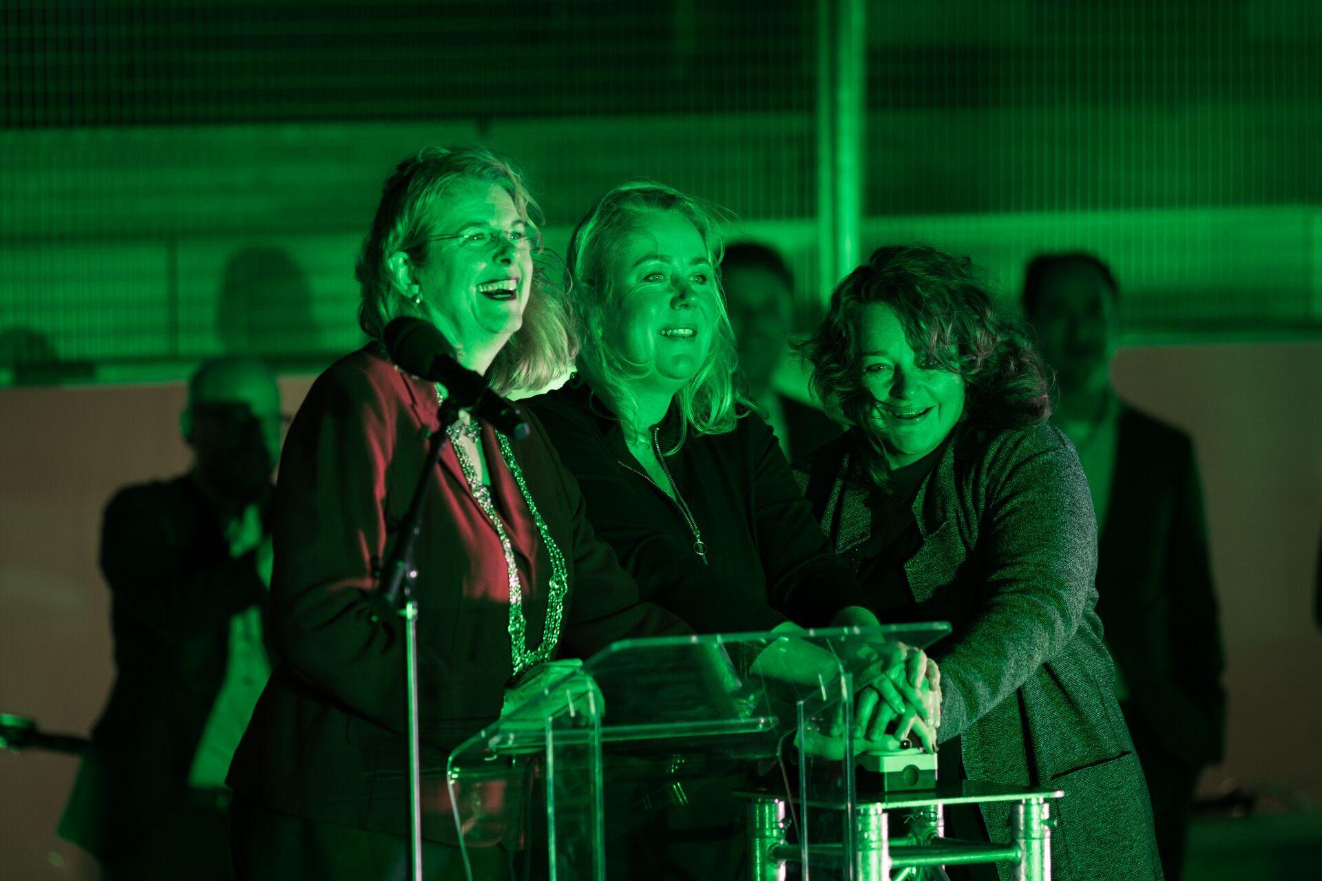 Polderdaktuin geopend in Den Haag