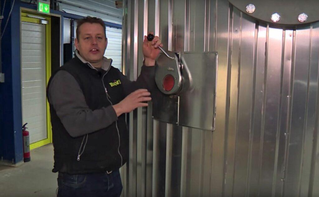 """Kweker Jarno Baas: """"Geen gas meer nodig."""""""