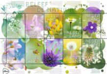 Veldbloemen postzegels