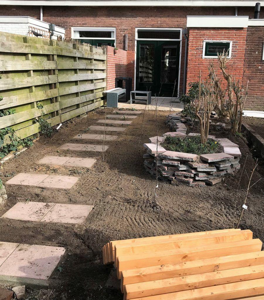 Circulaire tuin ontworpen en gerealiseerd door leerlingen for Opleiding tuin