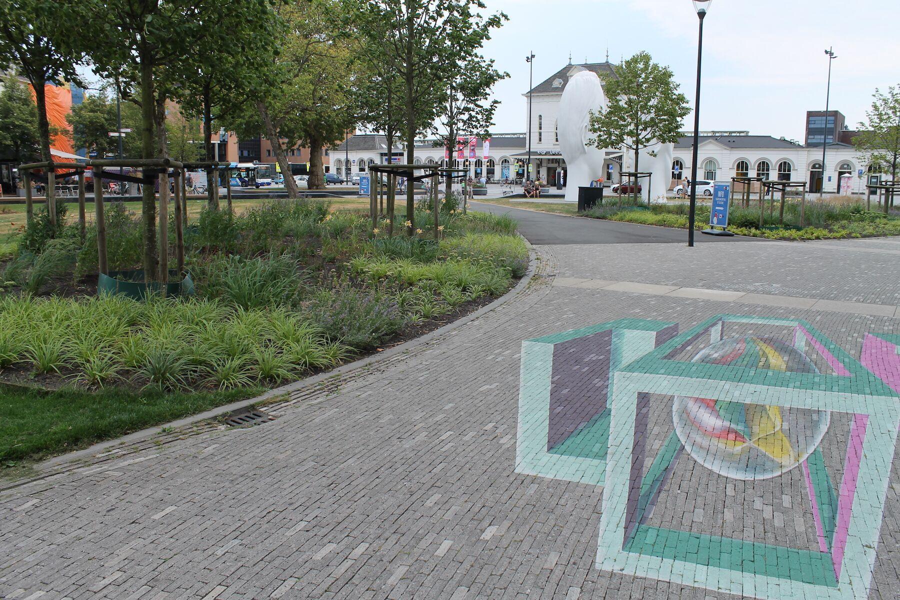 Stationsplein Leeuwarden