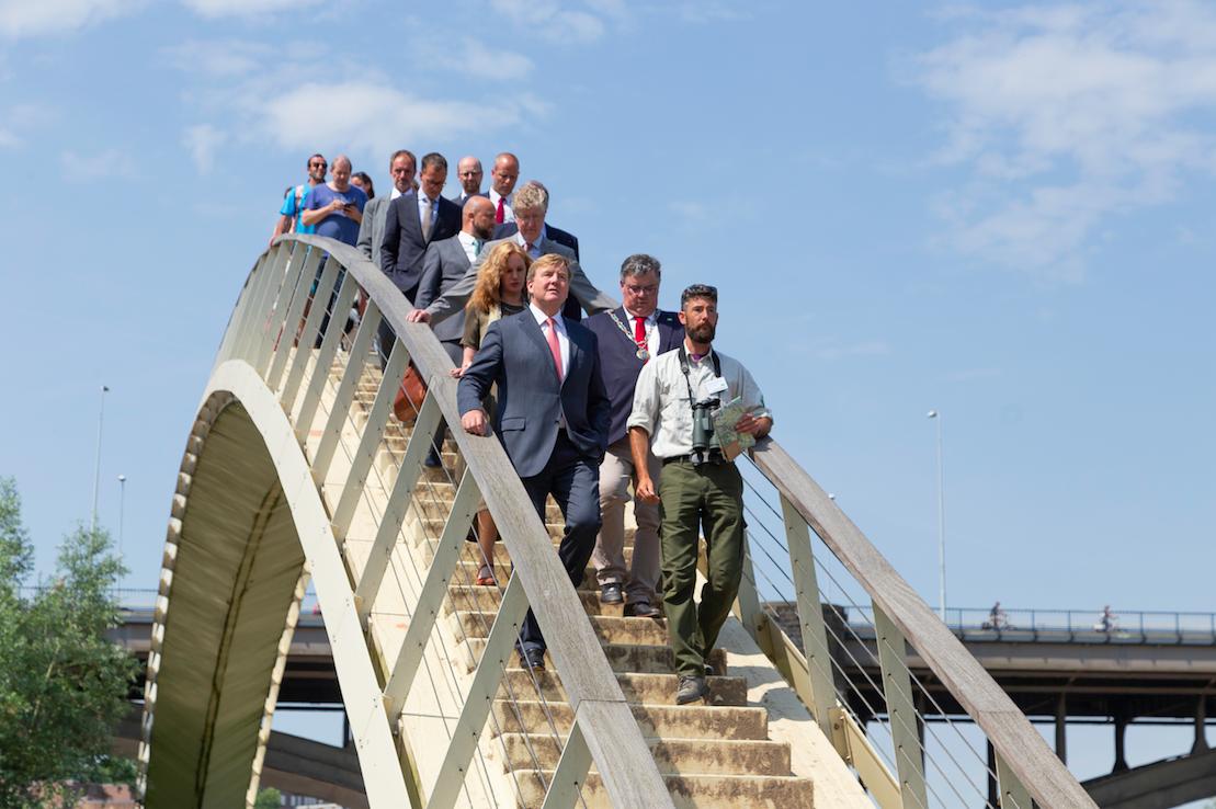 Koning Willem-Alexander bezoekt Green Capital Nijmegen