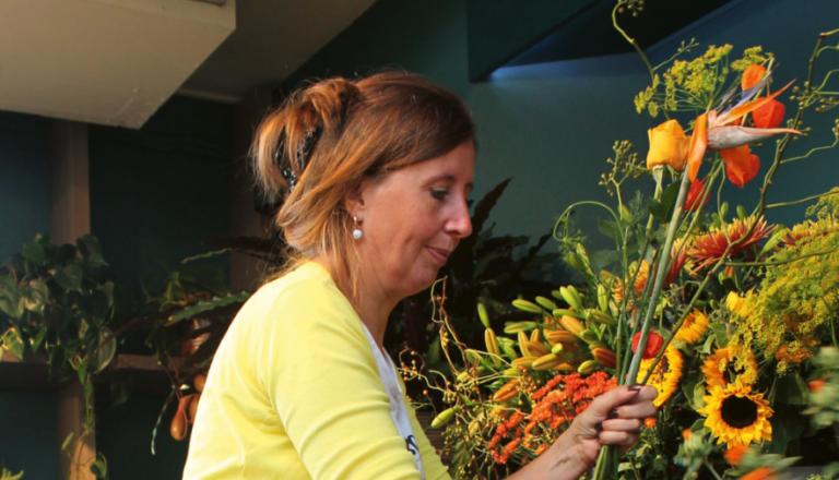 Bloemist Judith Ebbers: 'Kweker en bloemist kan nog veel van elkaar leren'