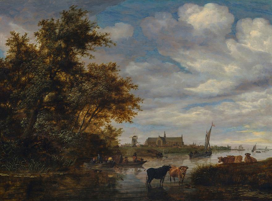 Simon van Ruysdael - Dromen van Bomen