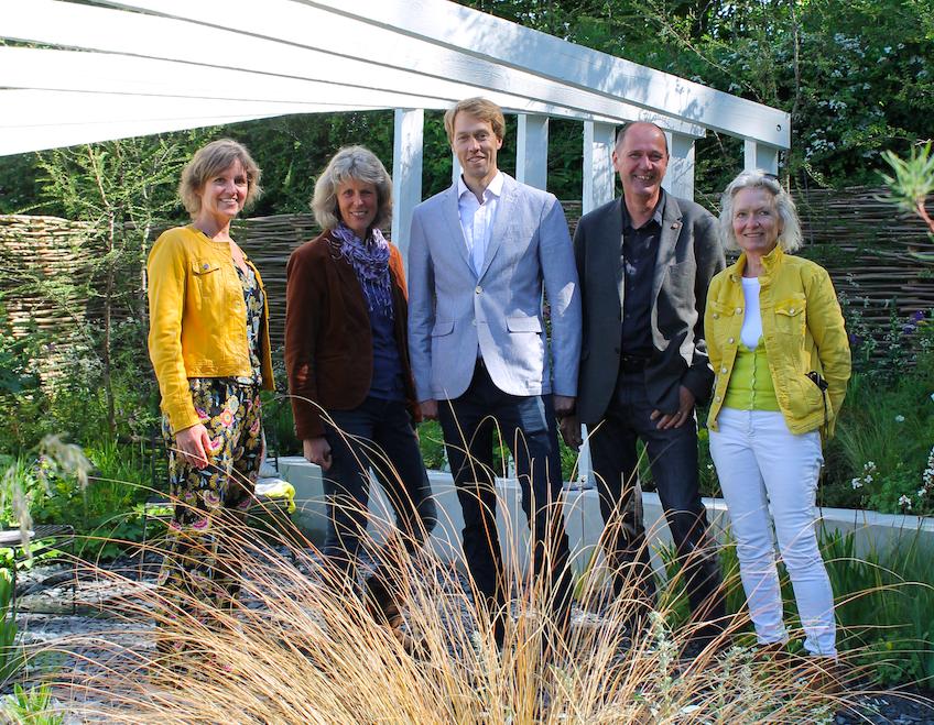 Showtuin Arjan Boekel wint goud op Gardenista