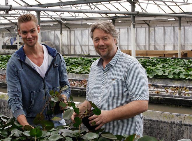Waterplantenkweker Chris en Simon van der Velde