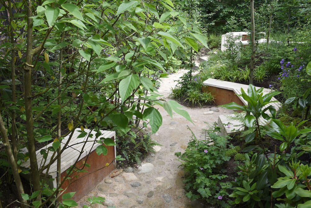 In de Belgische inzending Le Jardin des solitudes kun je volgende de jury het beste ideeën opdoen voor je eigen tuin. (foto: Emiel van den Berg)