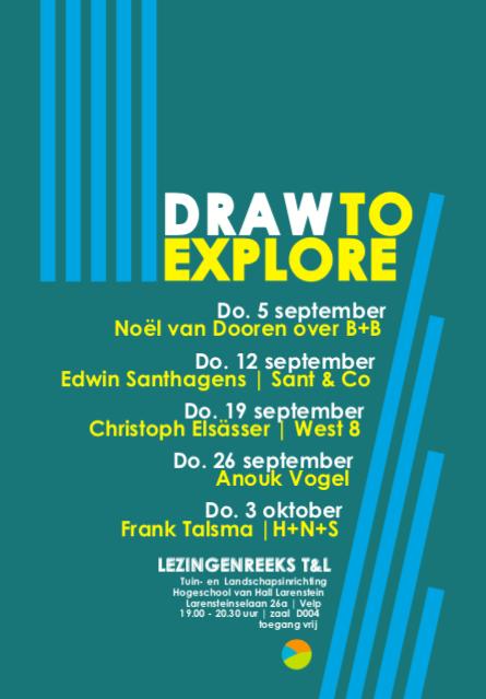 Draw to explore Hall Larenstein