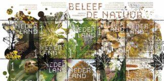 Bomen, postzegels