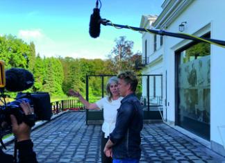 Patricia Debie en Waldemar Torenstra bij Paleis Soestdijk