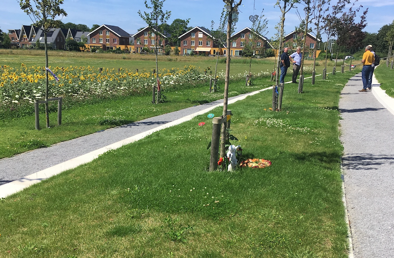 MH17-monument Megrow wormen