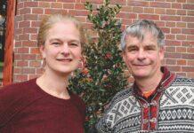 Angela Warmerdam en Noel Kingsbury