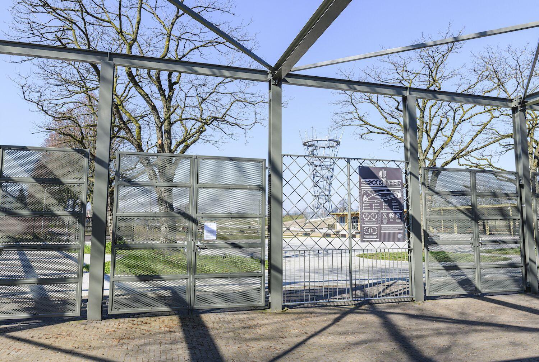 Spoorpark Tilburg dicht