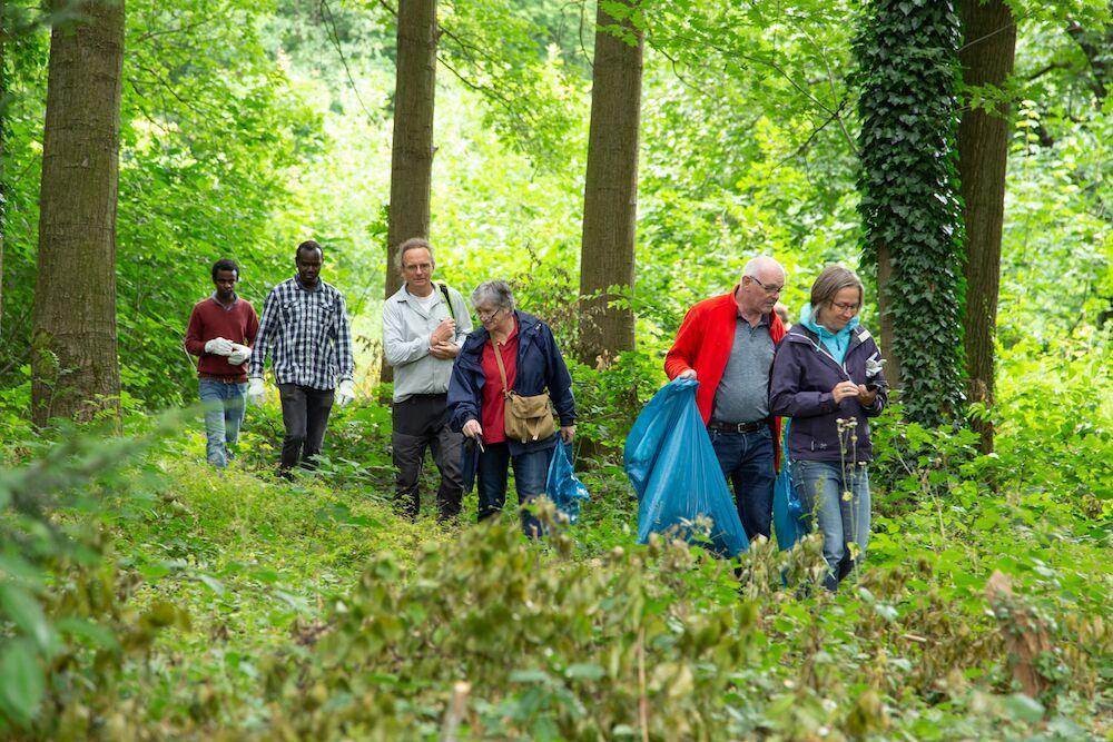 Reuzenbalsemien bestrijden in Nijmegen