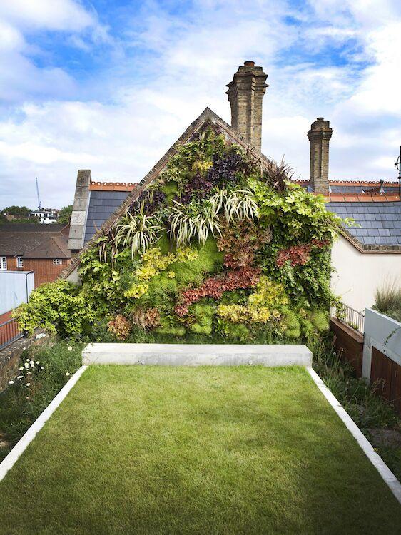 Groene kerkgevel Tapestry Vertical Gardens