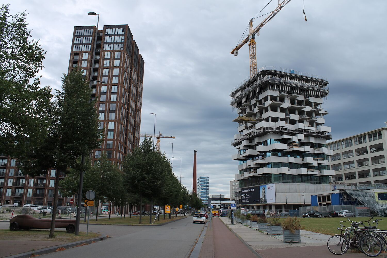 Trudo Toren Eindhoven verticaal bos