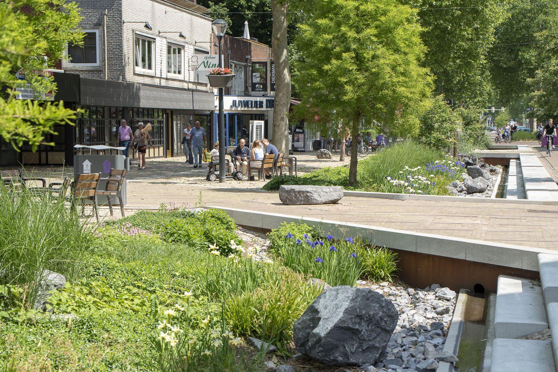 Grotestraat Nijverdal stadse klimaatwadi