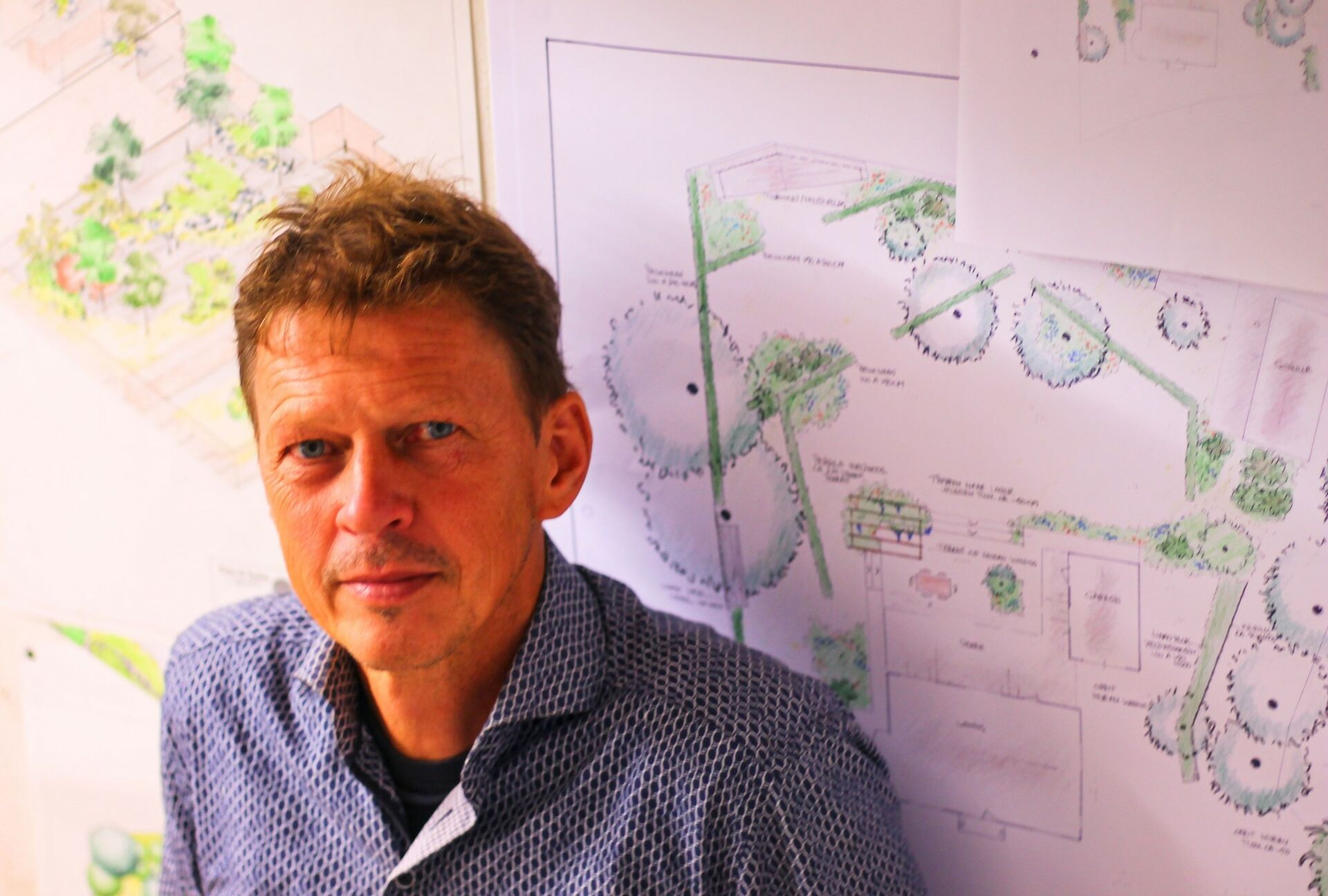 Tuinontwerper Pieter de Koning