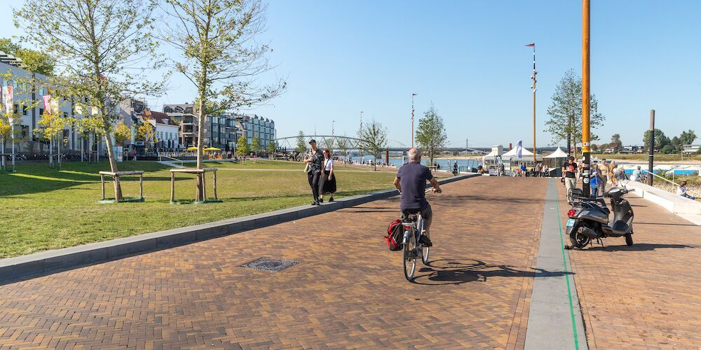Groene Waalkade Nijmegen