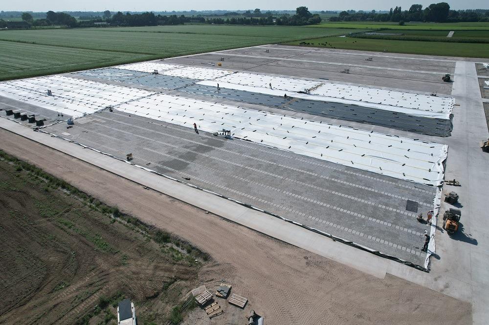 Nieuwbouw Arie Bouman Kwekerij vordert gestaag