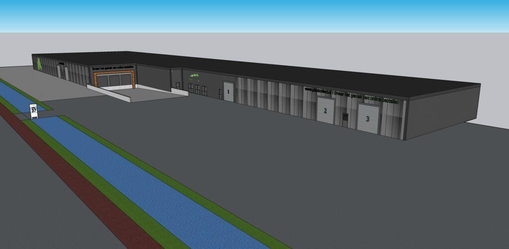 Het ontwerp van de nieuwbouw van PlantCollect