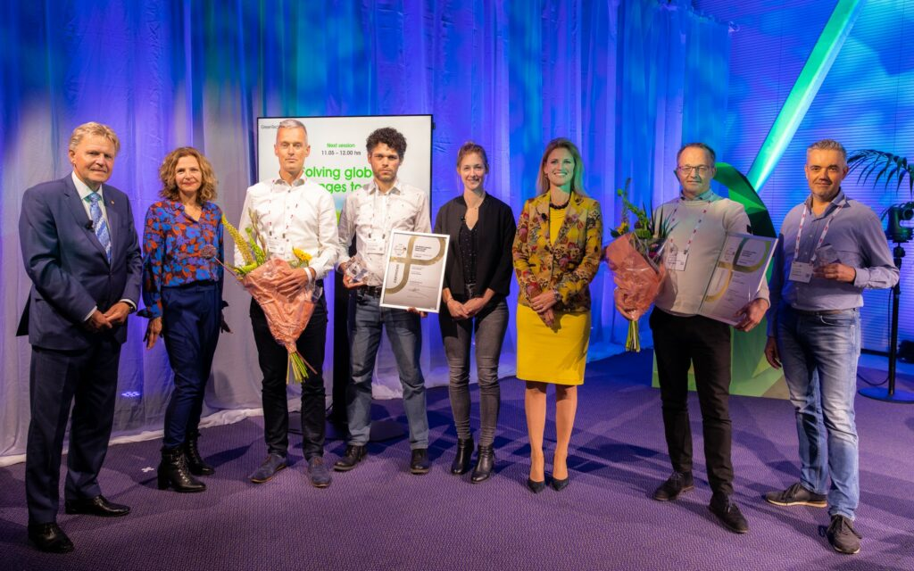 De winnaars van de GreenTech Innovation Awards 2021